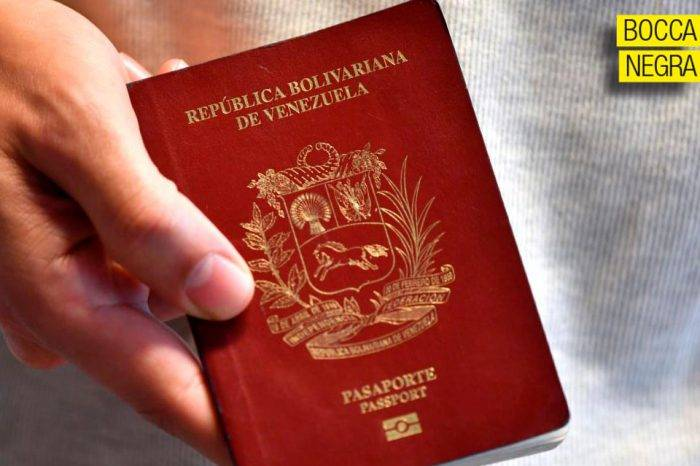 """El pasaporte """"bolivariano"""", por Simón Boccanegra"""
