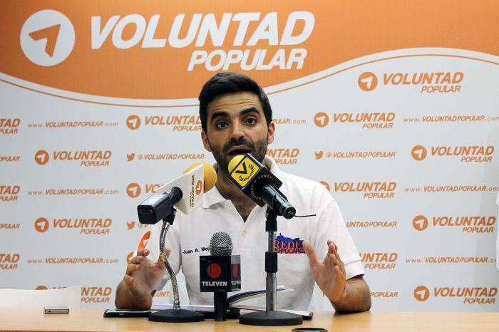 """Juan Andrés Mejía: """"Vendrá una nueva etapa de protesta. Los Venezolanos no se van a quedar de brazos cruzados"""""""