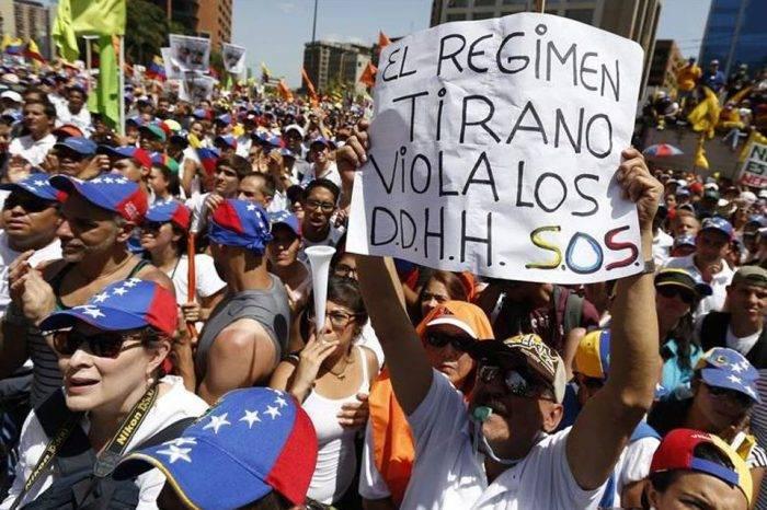Humano Derecho Vision - Paro nacional y trancazo en Venezuela
