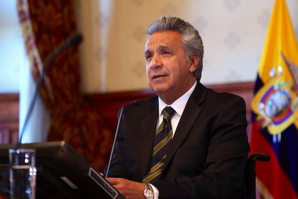 Lenín Moreno presidente de Ecuador