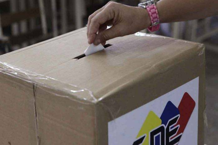 cne simulacro electoral
