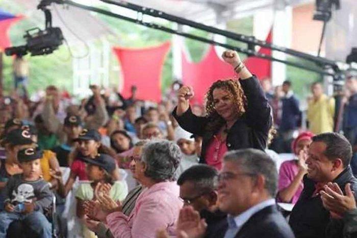 """Iris Varela asegura que las sanciones de Panamá """"la tienen sin cuidado"""""""