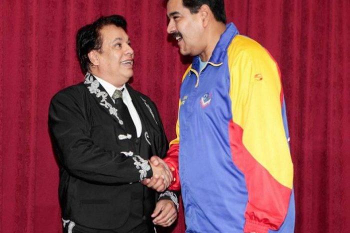 De cuando Juan Gabriel le cantó a Maduro