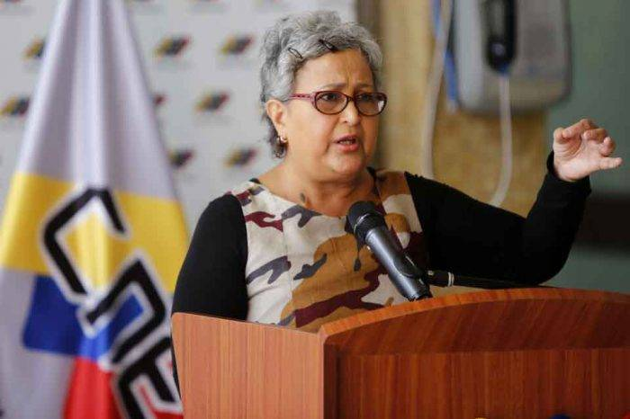 Tibisay Lucena: partidos políticos tienen carga baja de acreditación de testigos