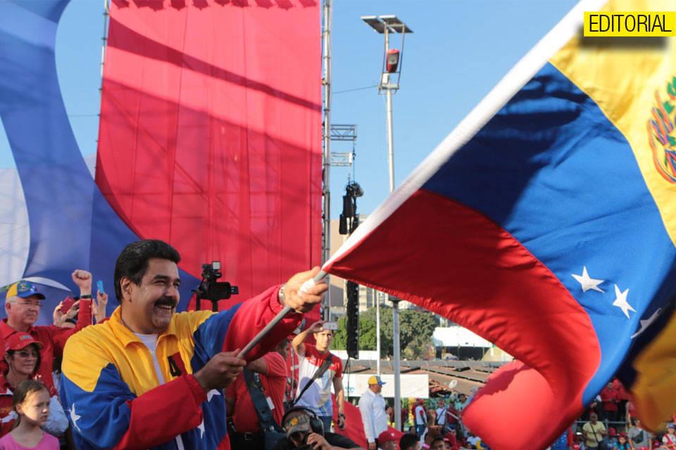 Nicolás Maduro Editorial
