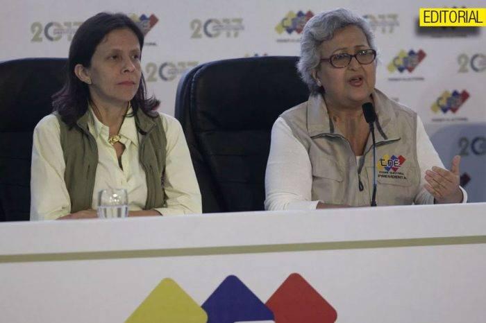 Almagro dejó desnudas a las rectoras del CNE, por Xabier Coscojuela