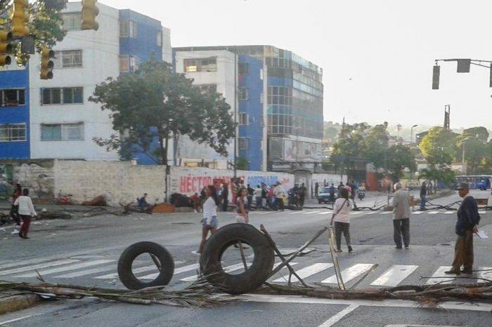 Protesta La Urbina CLAP Foto: El Estímulo