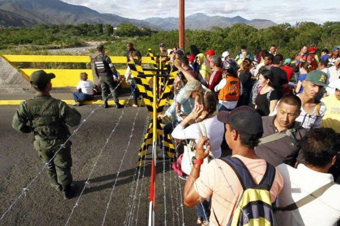 Cruz Roja pide apoyo para venezolanos que llegan a Colombia huyendo de la crisis