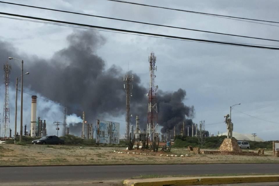 Refinería de Amuay Incendio