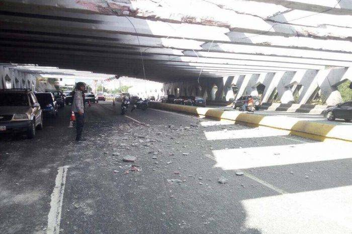 Fue reabierto el paso vehícular en el tercer canal de la Autopista Francisco Fajardo
