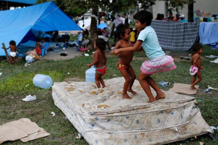 Diputada Paredes denunció estado de los infantes que ingresan a Brasil