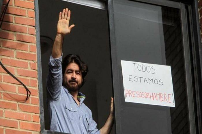 Familiares de Daniel Ceballos lograron verlo tras 12 días aislados