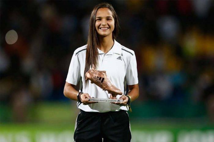Deyna Castellanos es elegida embajadora del fútbol sudamericano