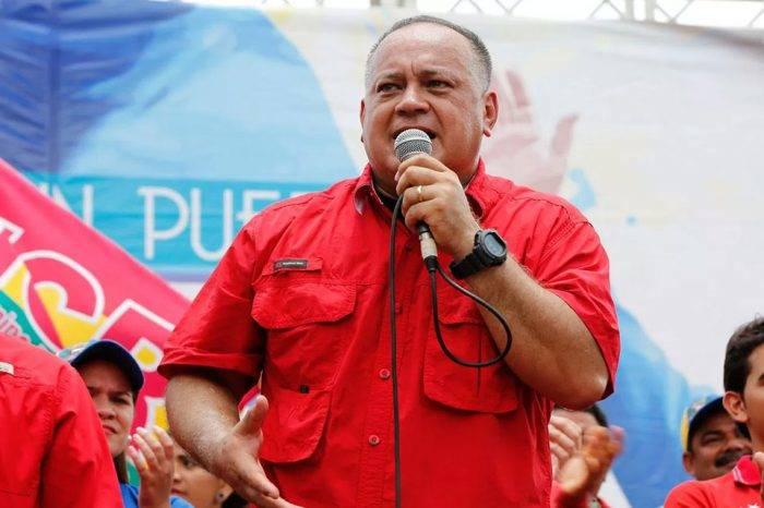 """Diosdado Cabello pidió al Táchira estar alerta ante posible """"falso positivo"""""""