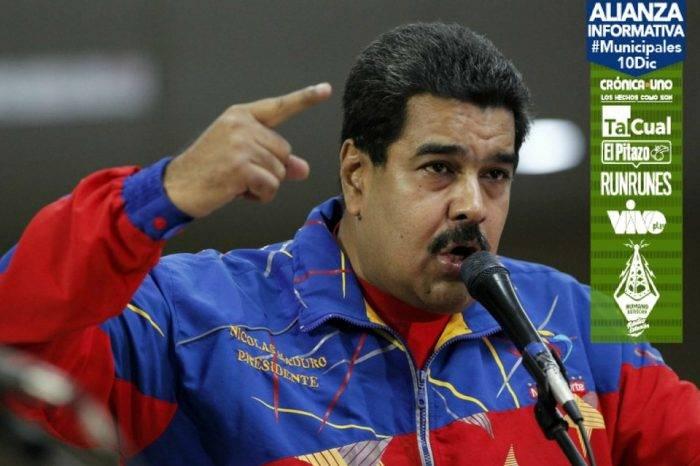 """Maduro llama a Macri """"rata de cañería"""" y """"padrino de la derecha venezolana"""""""