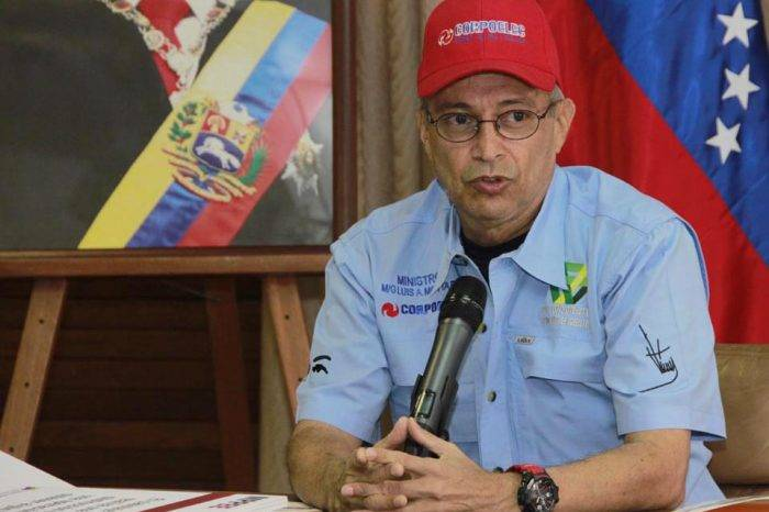 "Motta Domínguez: Falla eléctrica de este lunes fue producto de ""sabotaje"""