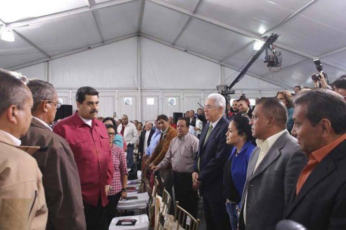 Maduro: Venezuela cierra muy bien el 2017 en cuanto a la democracia