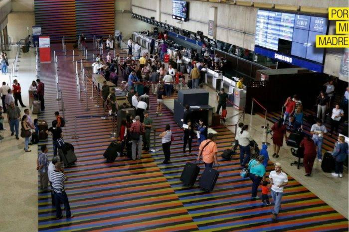 Aeropuerto Internacional Maiquetía Por Mi Madre