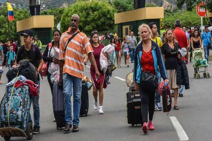 Migración venezolanos Colombia
