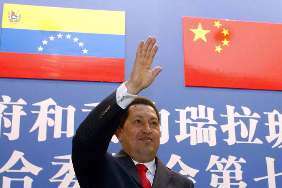 Hugo Chavez China