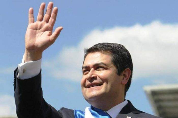 Juan Orlando Hernández Honduras