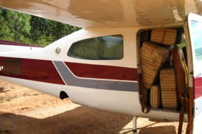 Avioneta con drogas