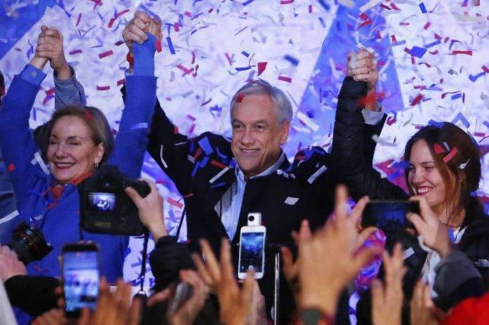 Sebastián Piñera gana las elecciones y volverá a presidir Chile