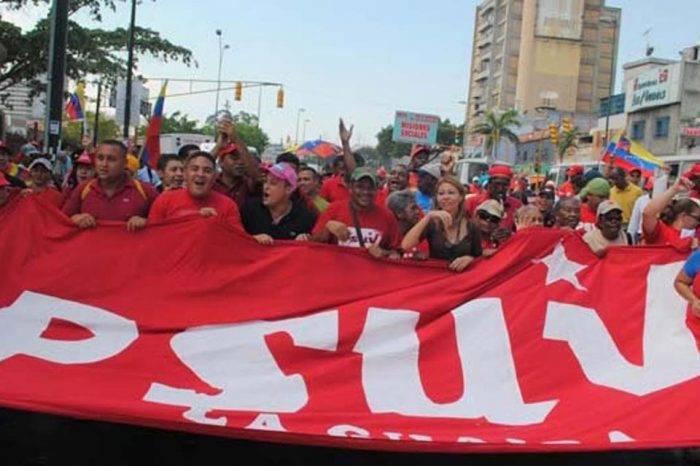 PSUV atribuye desplome económico a protestas de la oposición y sanciones de EEUU