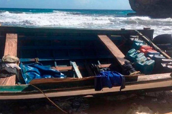 Encuentran el quinto cadáver de balsa que naufragó en Curazao