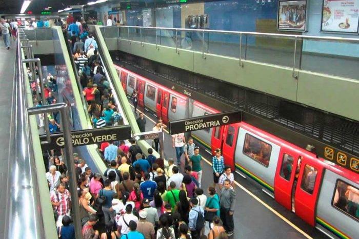 Metro de Caracas no se fue a paro, pero sí presentó retraso
