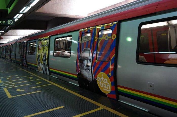 Lanzan bomba lacrimógena en el Metro de Petare