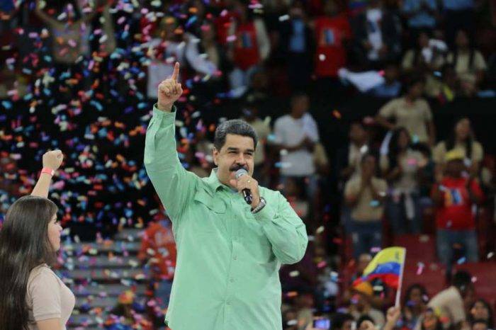 Nicolás Maduro Inicio campaña presidencial 26 enero