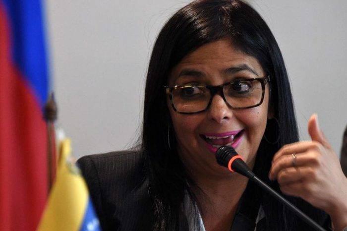 Delcy Rodríguez ataca a Marco Rubio por sus declaraciones sobre negociación
