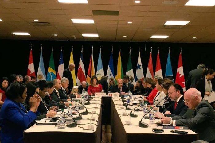 Grupo de Lima decide hoy medidas contra Venezuela por adelanto de elecciones