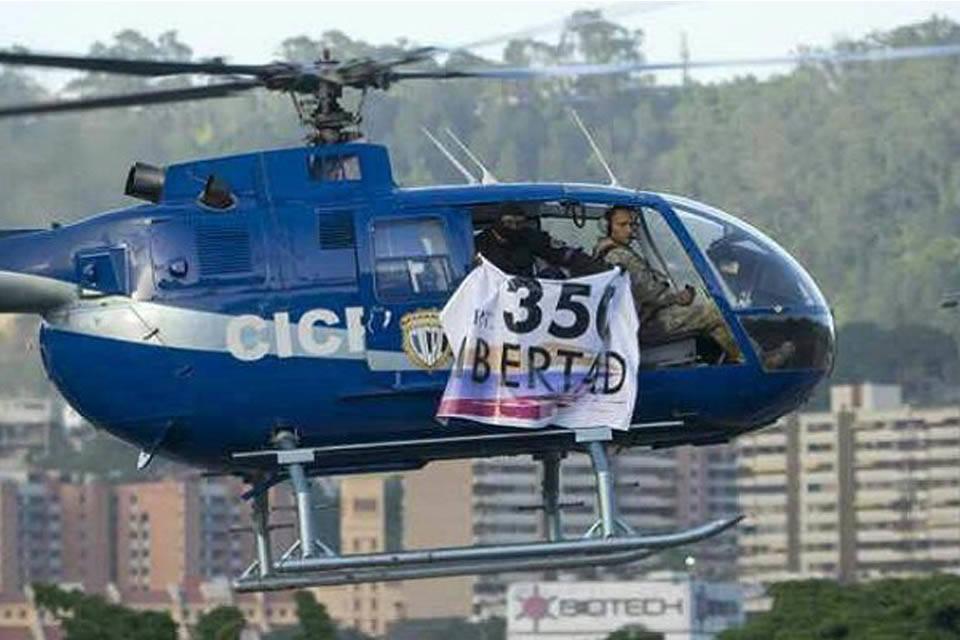 Óscar Pérez exinspector Cicpc helicóptero Junio 2017
