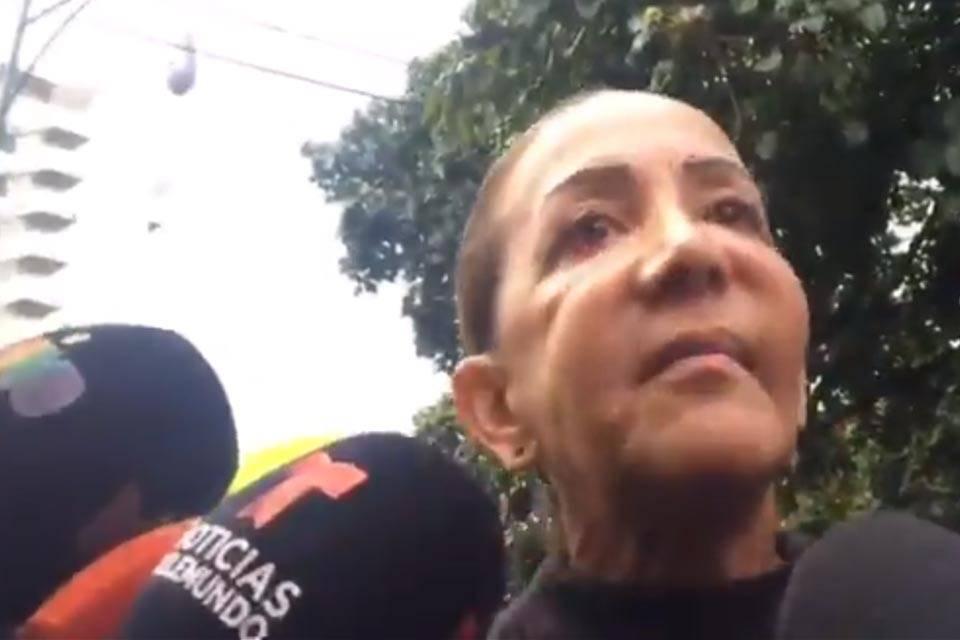 Aura Pérez tía de Óscar Pérez exinspector Cicpc