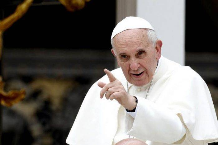 Omar Barboza sostuvo una reunión con el papa Francisco