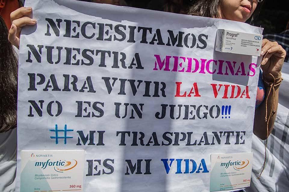 Trasplantados protesta Codevida
