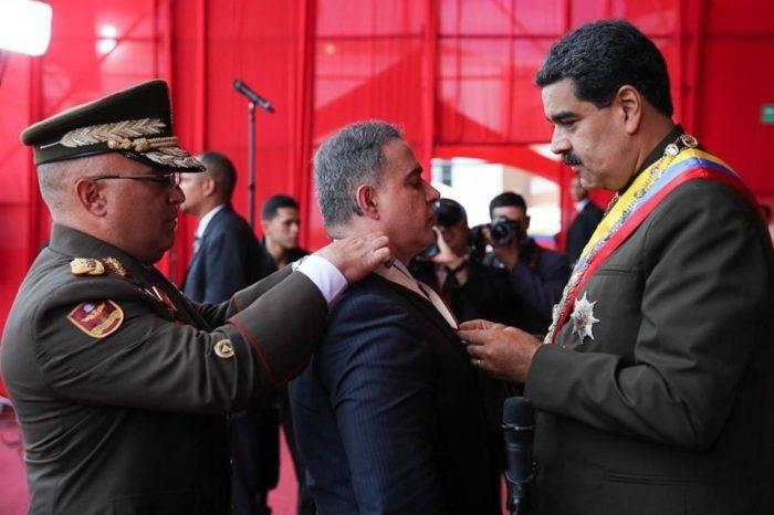 Tarek William Saab Néstor Reverol Nicolás Maduro