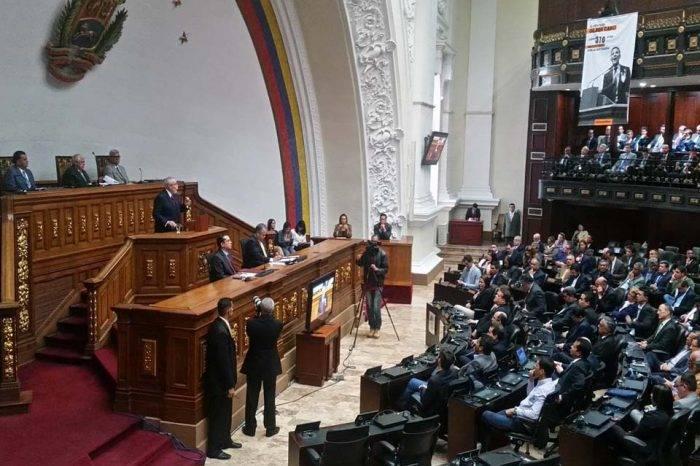 Asamblea Nacional 23 Enero 2018 Ramón Guillermo Aveledo