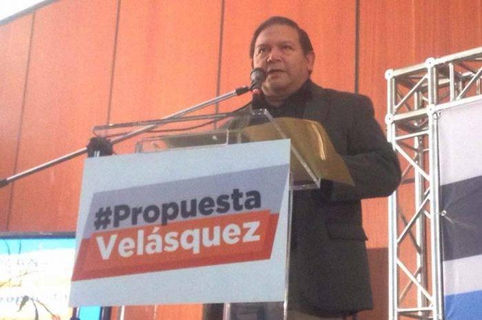 Sin condiciones, no hay elecciones presidenciales para Andrés Velásquez