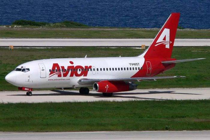 Avior cesa operaciones entre Venezuela, Aruba, Bonaire y Curazao
