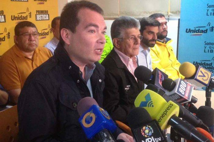 Tomás Guanipa secretario general Primero Justicia diputado