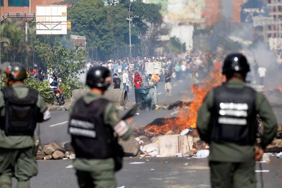 Fuerza Armada Represión Protestas