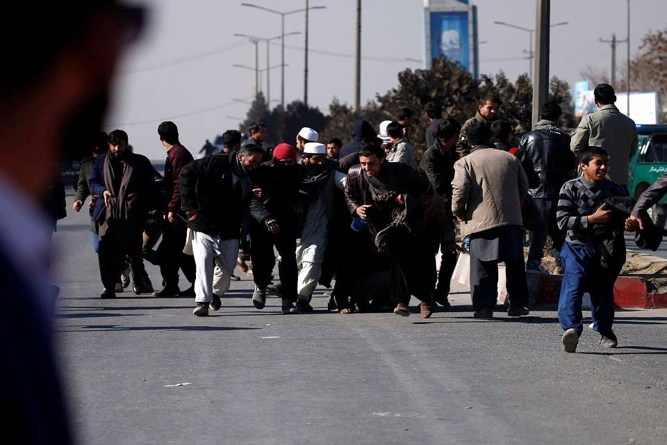 Ataque a hotel Kabul enero 2018