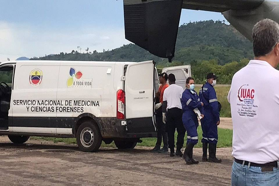Tragedia helicóptero Amazonas Senamecf