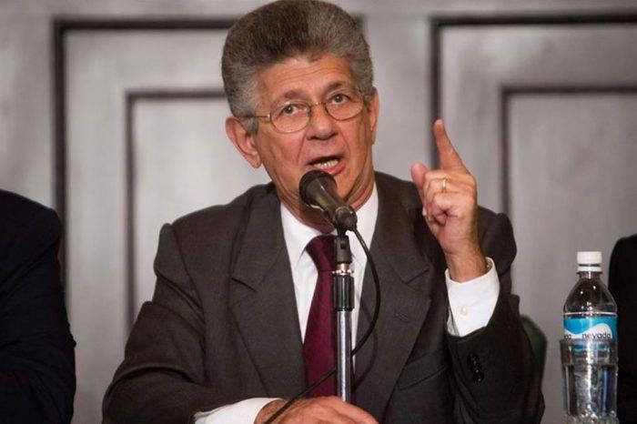 Ramos Allup: El gobierno no nos va amilanar con el suicidio simulado de Albán
