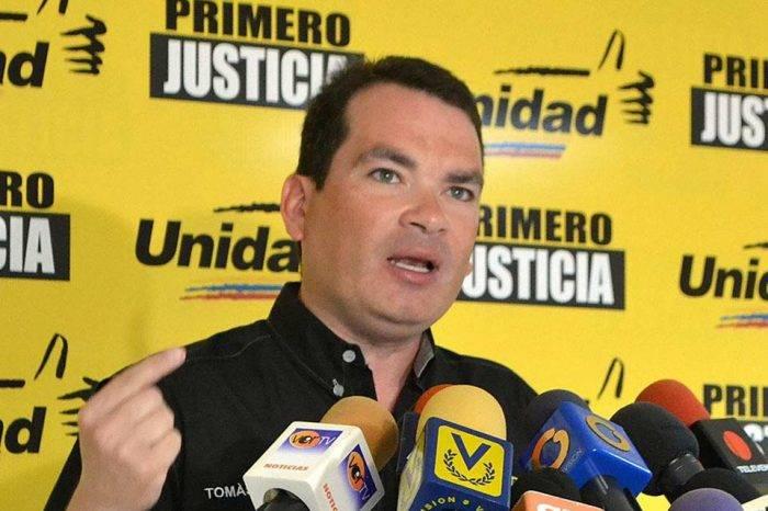 Tomás Guanipa pide a la FAN no reprimir a manifestantes el #23Ene