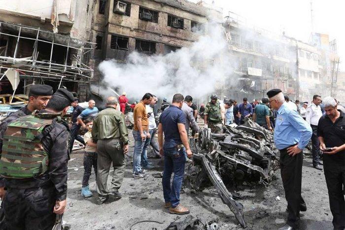 Decenas de muertos y heridos en atentado en Bagdad