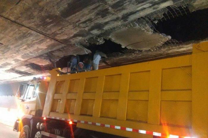 Reparaciones en Boquerón II colapsan tránsito en Caracas-La Guaira